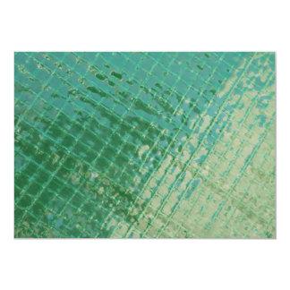 Photo picture of green plastic cover. custom invitations