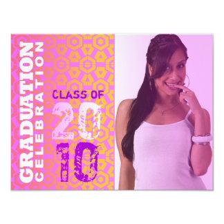 Photo Pink Filter Graduation Party Invitation E