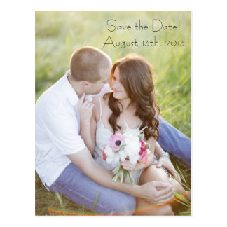 Photo Post Card Save The Date
