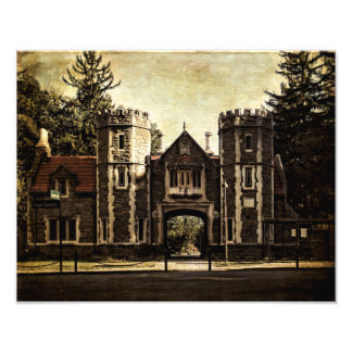 Photo Print-Bard College Entrance