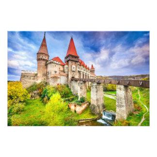 Photo print Corvin castle