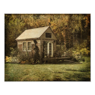 Photo Print-Cottage in the Country