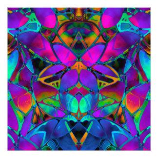 Photo Print Floral Fractal Art
