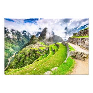 Photo print Machu Picchu