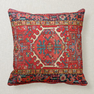 Photo print: of Antique Oriental Turkish Carpet Cushion