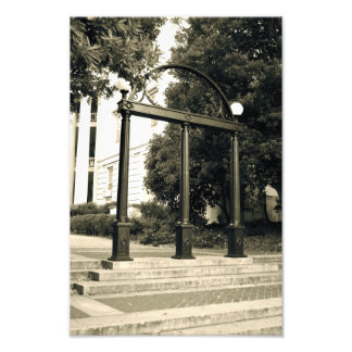 Photo Print of the Arch at UGA