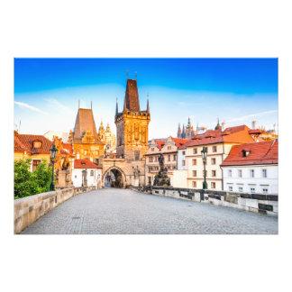 Photo print Prague
