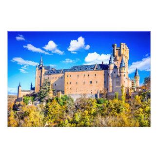 Photo print Segovia castle