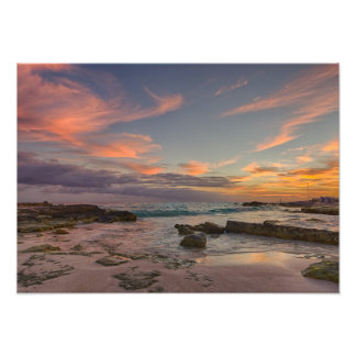 Photo Print - Sunrise over Cancun, Mexico