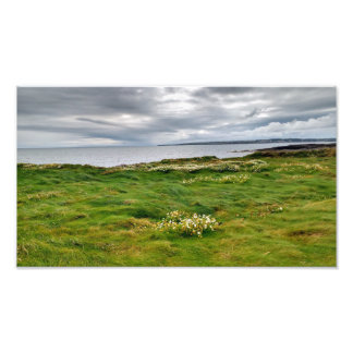 Photo print view over Hook Head to Waterford