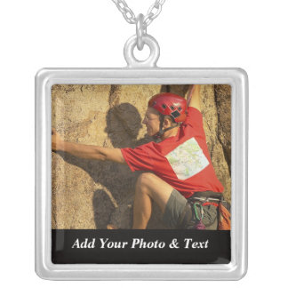 Photo Rock Climbing Sports Necklaces