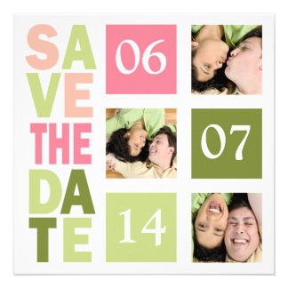 Photo Save The Date Cards Personalised Invite