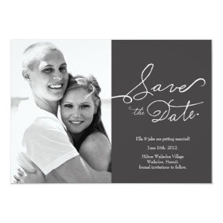 Photo Save the Date // True Love Collection Card