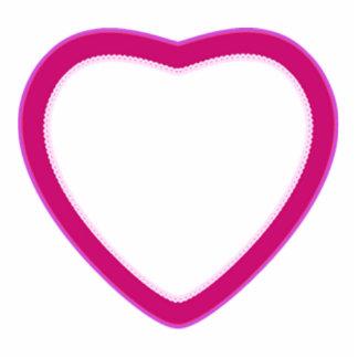 Photo Sculpture -- Magnet -- Heart for Hugs