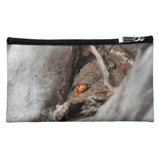 photo small pocket of a ladybird makeup bag