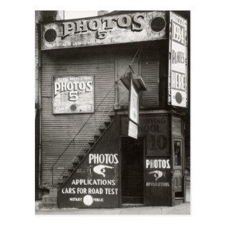Photo Studio, 1934 Postcard