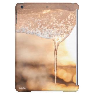 photo sun through ice iPad air case