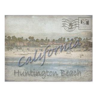 Photo taken in January of Huntington Bch, CA. Postcard