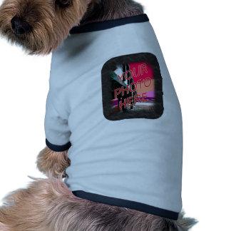 Photo template Black Marble Dog T-shirt
