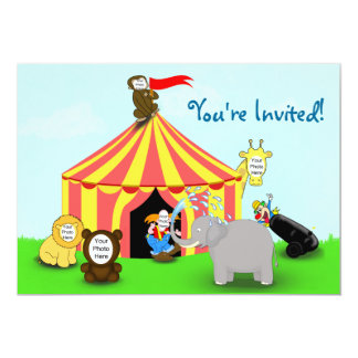 Photo Template Children's Party  Invitation
