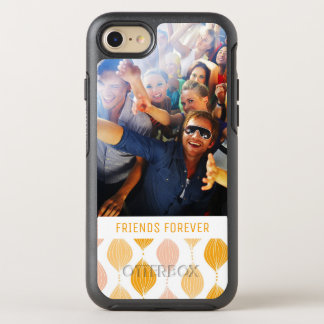 Photo & Text Golden Ogee Pattern OtterBox Symmetry iPhone 7 Case