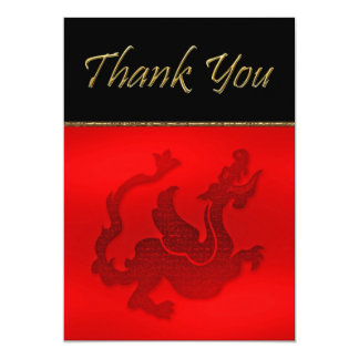 photo thank you 5x7 paper invitation card