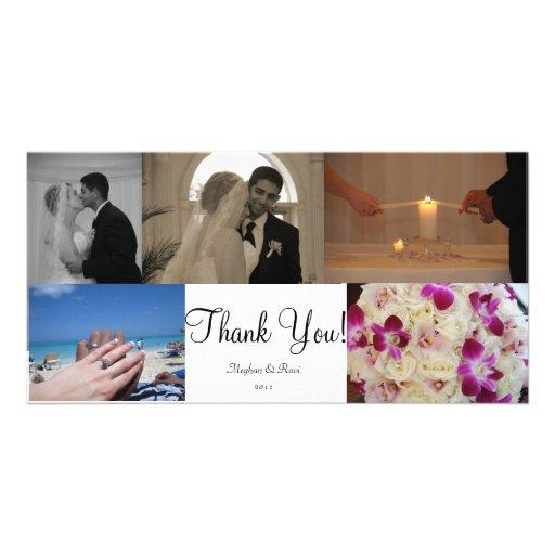 Photo Thank You Card Customized Photo Card