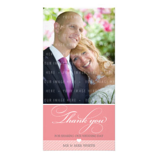 PHOTO THANK YOU :: lovely type 1 Personalized Photo Card