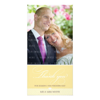 PHOTO THANK YOU lovely type 2 Photo Greeting Card