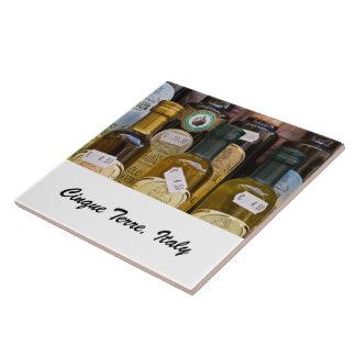 Photo Tile - Olive Oils - Cinque Terre, Italy