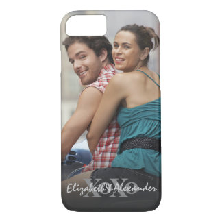 Photo Valentine's Day Love XoXo Names iPhone 8/7 Case