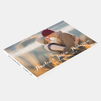 Photo Wedding Guest Book, add your photo Guest Book