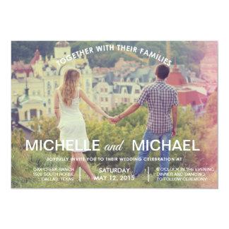 Photo Wedding Invitation
