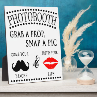 Photobooth Sign Plaque