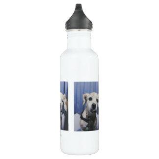 Photobooth Water Bottle (24 oz), White
