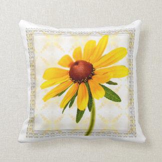Photograph of A Black-Eyed Susan Blossom Pillow