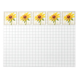 Photograph of A Black-Eyed Susan Blossom Notepad