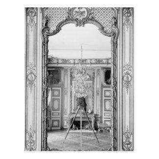 Photograph of a mirror at  Chateau de Versailles Postcard