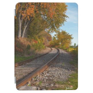 photograph of a railroad iPad air cover