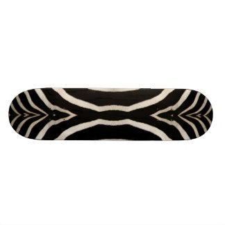 Photograph of a real Zebra's Fur Skate Decks