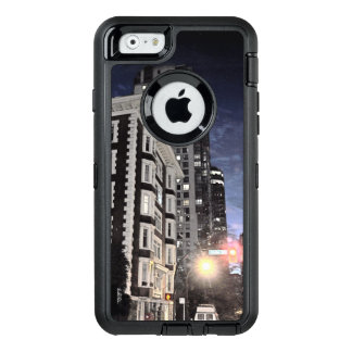 photograph of city the night OtterBox defender iPhone case