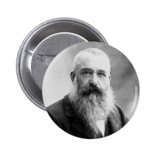 Photograph of Claude Monet by Nadar (1899) 6 Cm Round Badge
