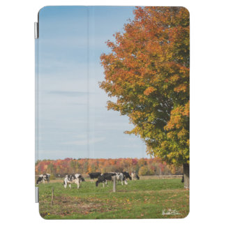 photograph of cows with tree iPad air cover