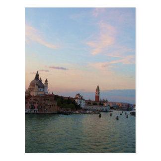 Photograph of Romantic Venice Lagoon Postcard