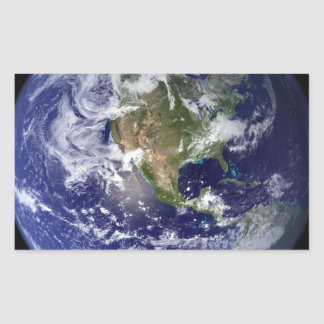Photograph of the Western hemisphere of the Earth