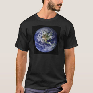 Photograph of the Western hemisphere of the Earth T-Shirt