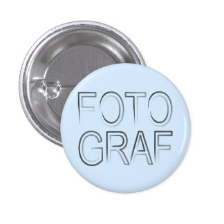 photographer 3 cm round badge