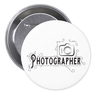 Photographer 7.5 Cm Round Badge