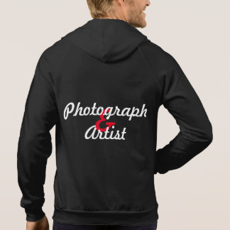 Photographer and kindist hoodie