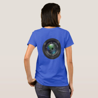 Photographer And Photography Business Camera Lens T-Shirt